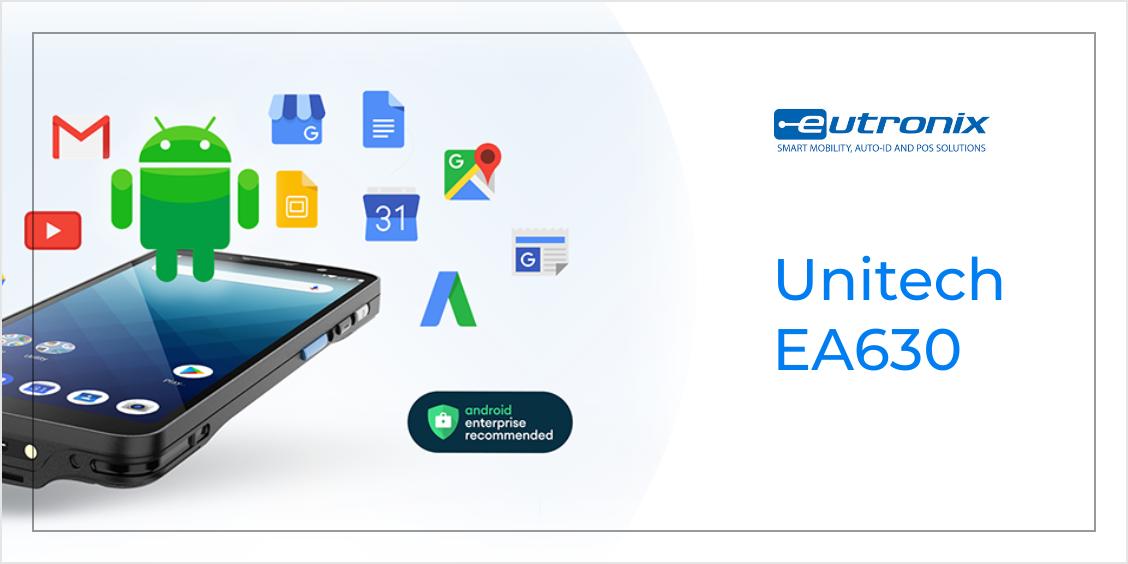 Unitech EA630 : bien plus qu'un smartphone professionnel