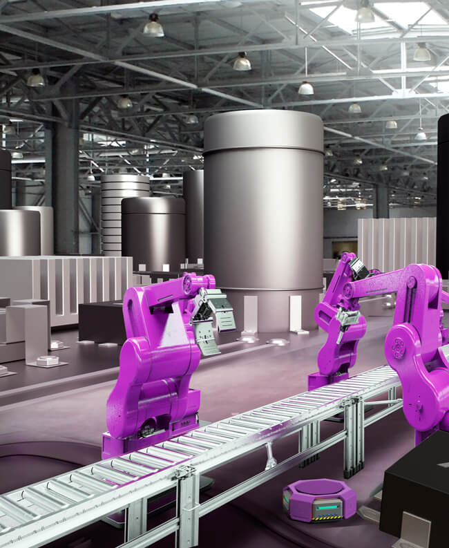Solutions for automation of consumables, food production & manufacturing processes