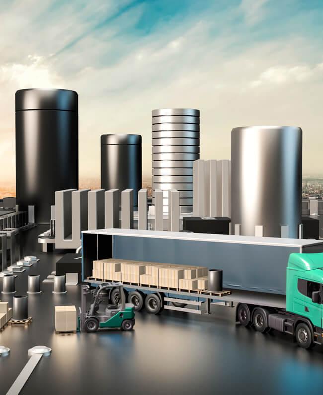 Automatisation d'entrepôts, systèmes de géolocalisation, solutions d'étiquetage et systèmes de scanning