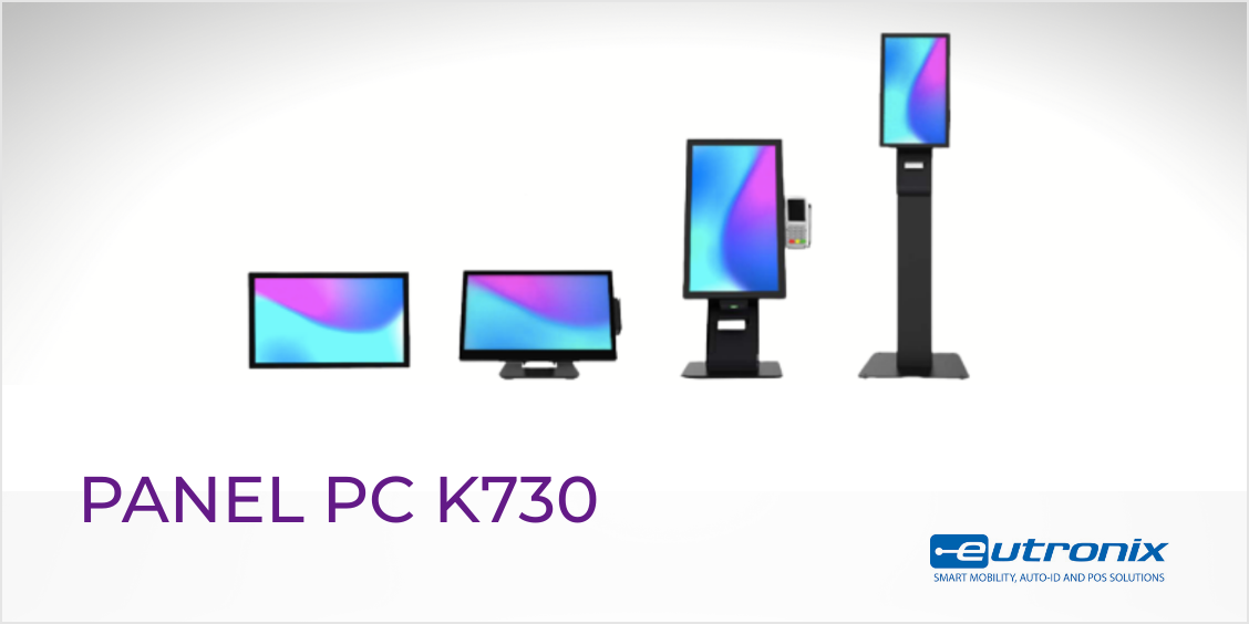 Box K730: the modular panel PC that adapts to your needs and to any space