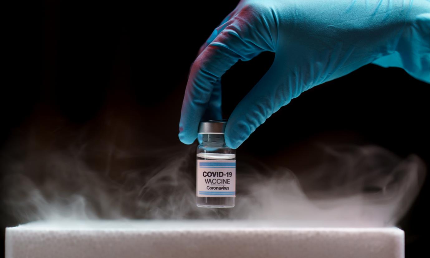 vaccin covid 19 impression etiquettes froid