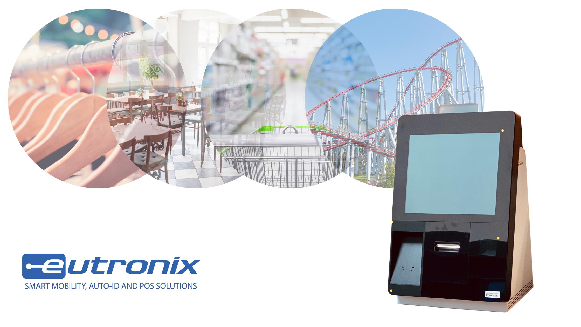 Eutronix kiosk retail leisure hospitality
