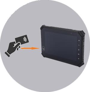 Ecran NFC PaceBlade MDT-860